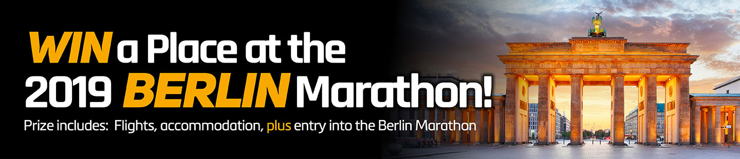 Win a place at the Berlin Marathon in our marathon challenge.